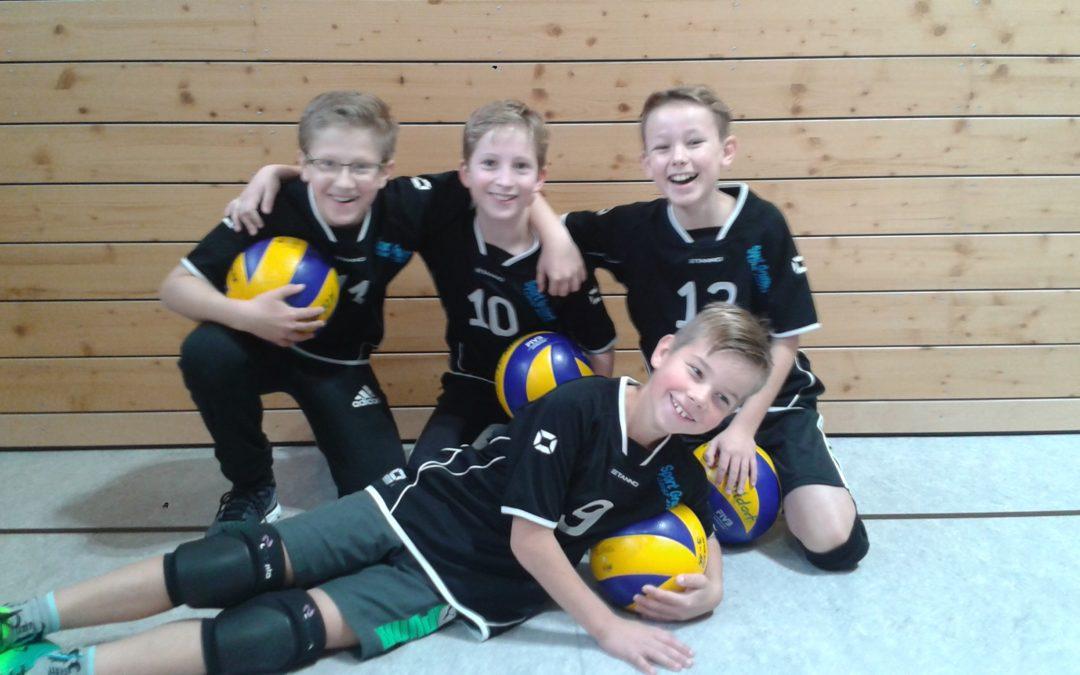 Altdorfer Volleyball-U13-Jungs starten mit Doppelsieg