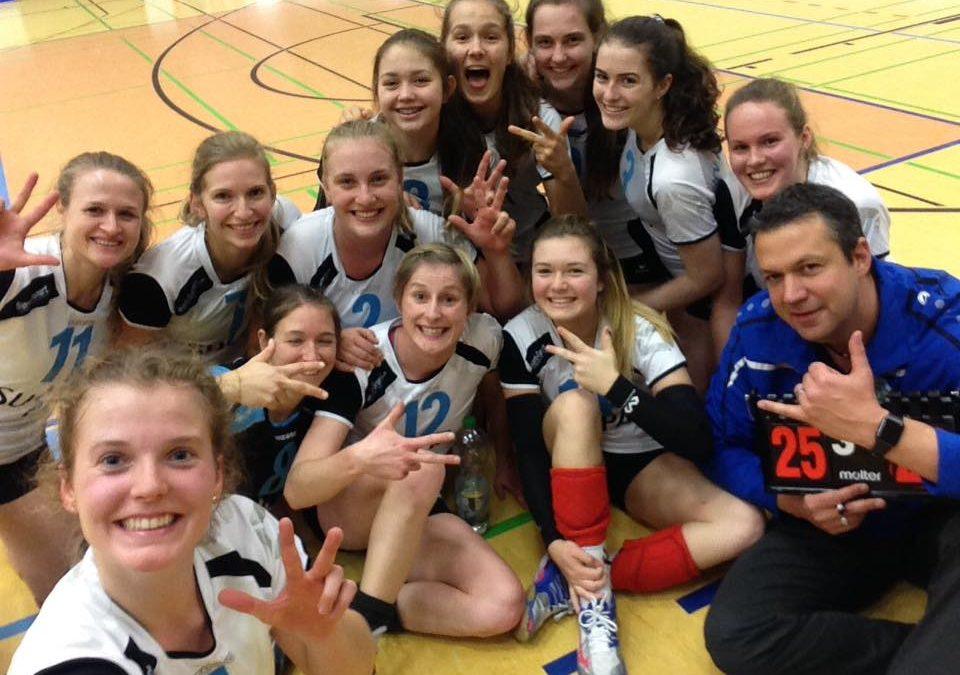 Altdorfer Drittliga-Volleyballdamen müssen nach dem Sieg in Hammelburg nach Ansbach