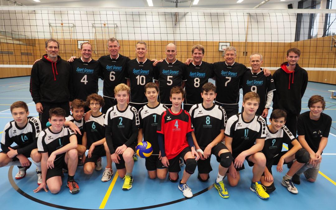 Altdorfer Volleyball-Herren messen sich mit Mittelfranken-Auswahlteam
