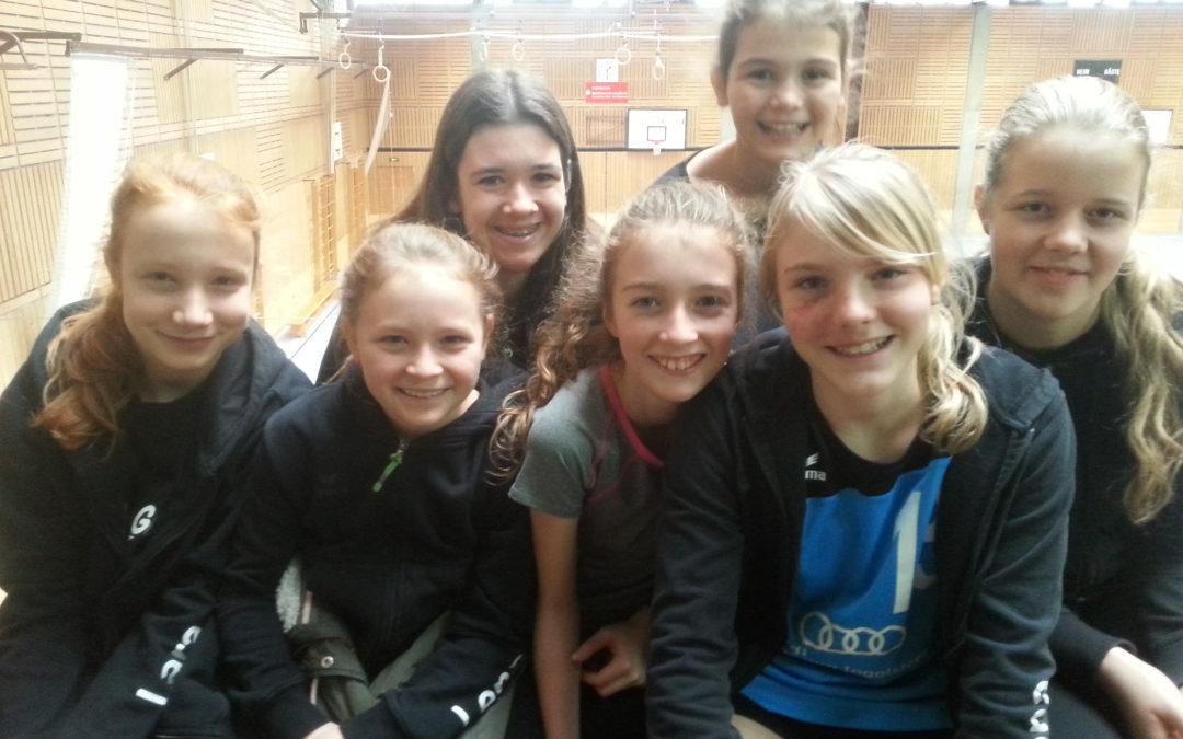U14 Mädels erklimmen die Tabellenspitze