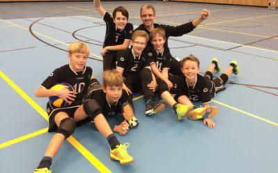 Altdorfs U13-Volleyballer sind ungeschlagener Tabellenführer