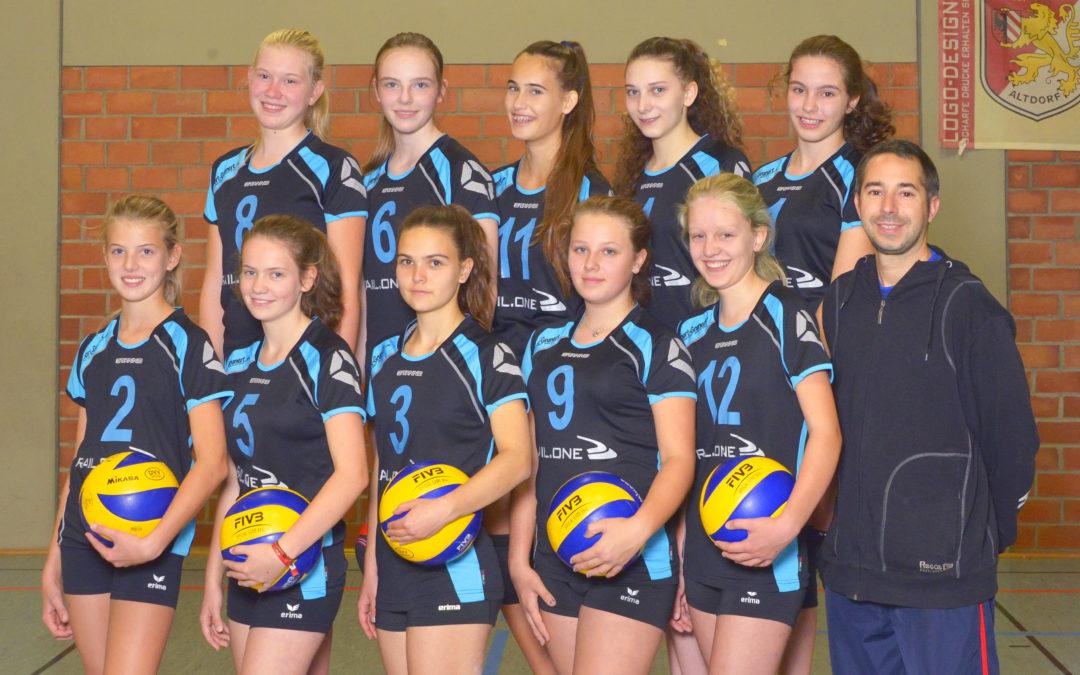 TV Altdorf hätte zwei Teams bei der Mittelfränkischen Meisterschaft der weiblichen U18-Volleyballjugend
