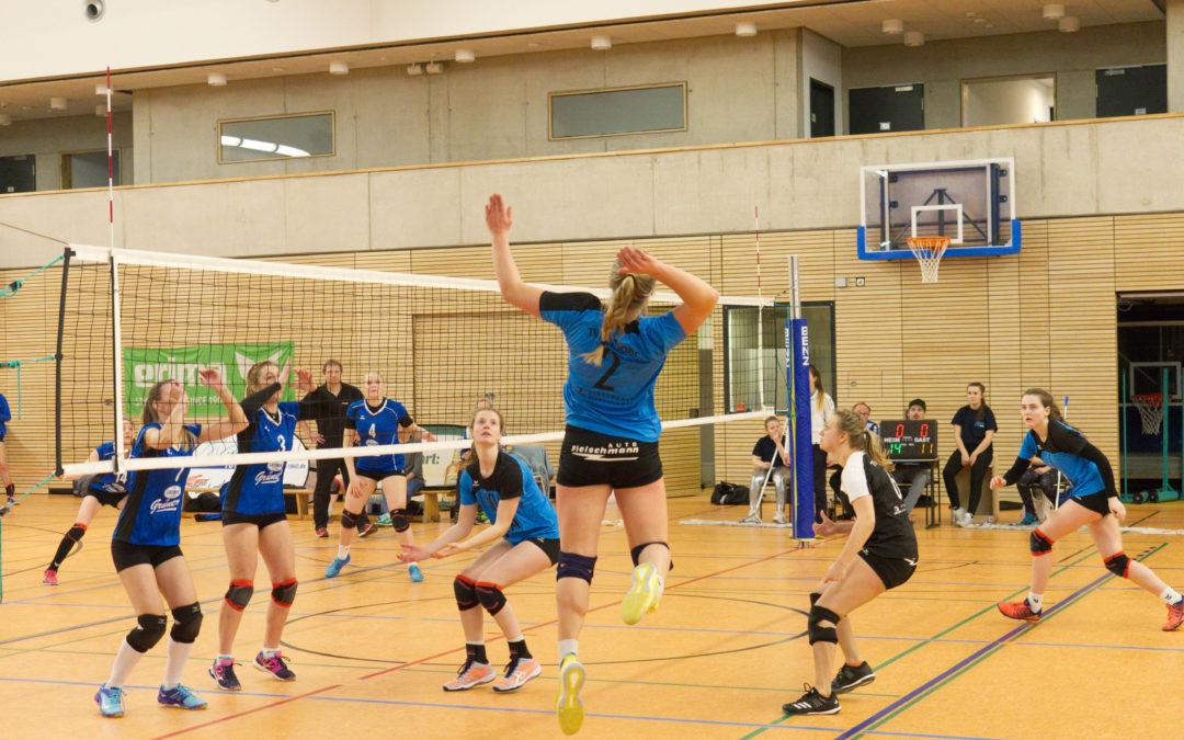 3.-Liga-Volleyballerinnen des TV Altdorf geraten in eine prekäre Tabellensituation