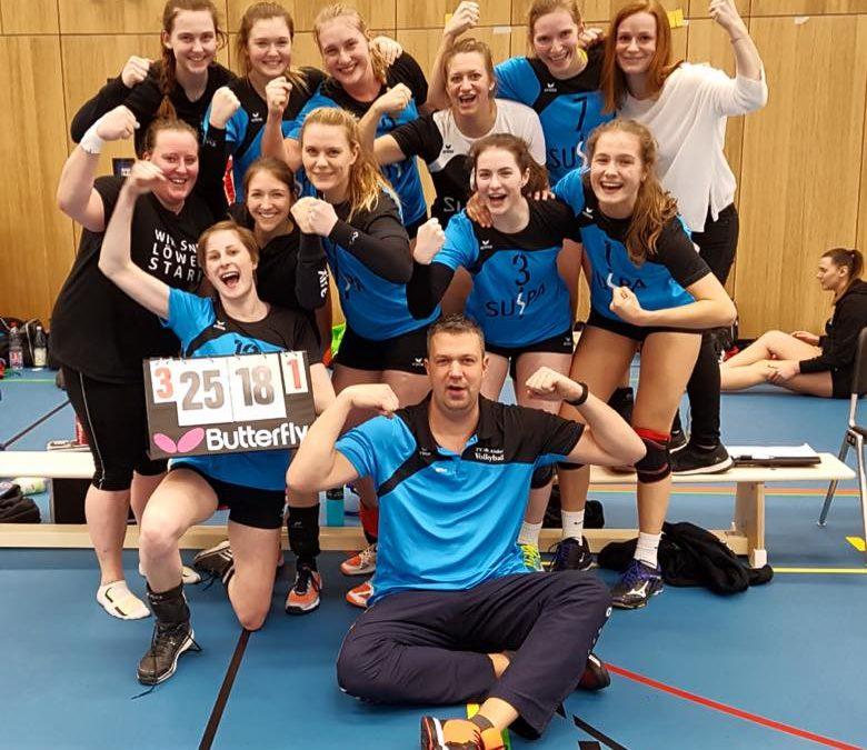 Altdorfs 3.-Liga-Volleyballerinnen verlassen mit einer Energieleistung den Abstiegsplatz