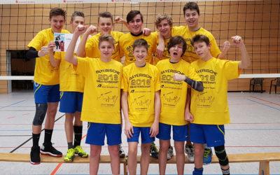 Altdorfer U18-Jugendvolleyballer mit sehr unterschiedlichen Erfolgen bei den Nordbayerischen Meisterschaften