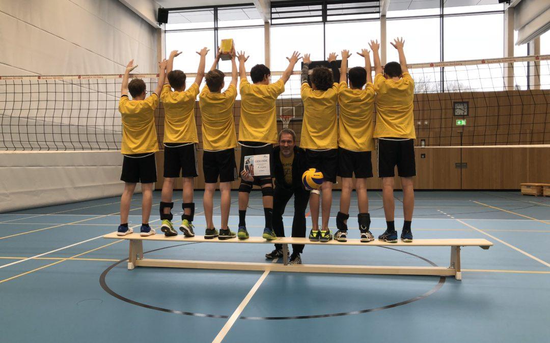 U16-Jungen des TV Altdorf gewinnen die Nordbayerische Meisterschaft