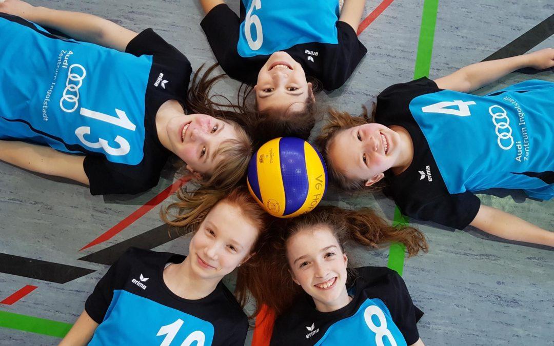 Altdorfer U14-Volleyballmädels 4. bei der Nordbayerischen Meisterschaft