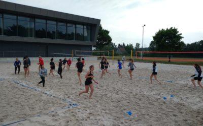 Mittelfranken suchte in Altdorf Beachvolleyball-Auswahlspielerinnen für Bayernpokal