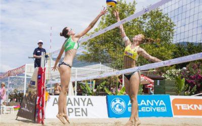 Viktoria Seeber bei World Tour in Alanya im Finale