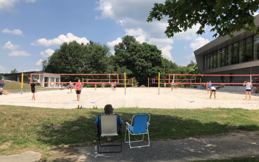 Beachvolleyball an diesem Wochenende