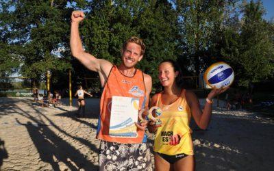 Priscilla Gatzsche wieder Bayerische Mixedmeisterin