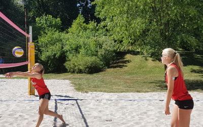 5.Platz bei der Bayerischen Beach Meisterschaft U15w in Lenggries