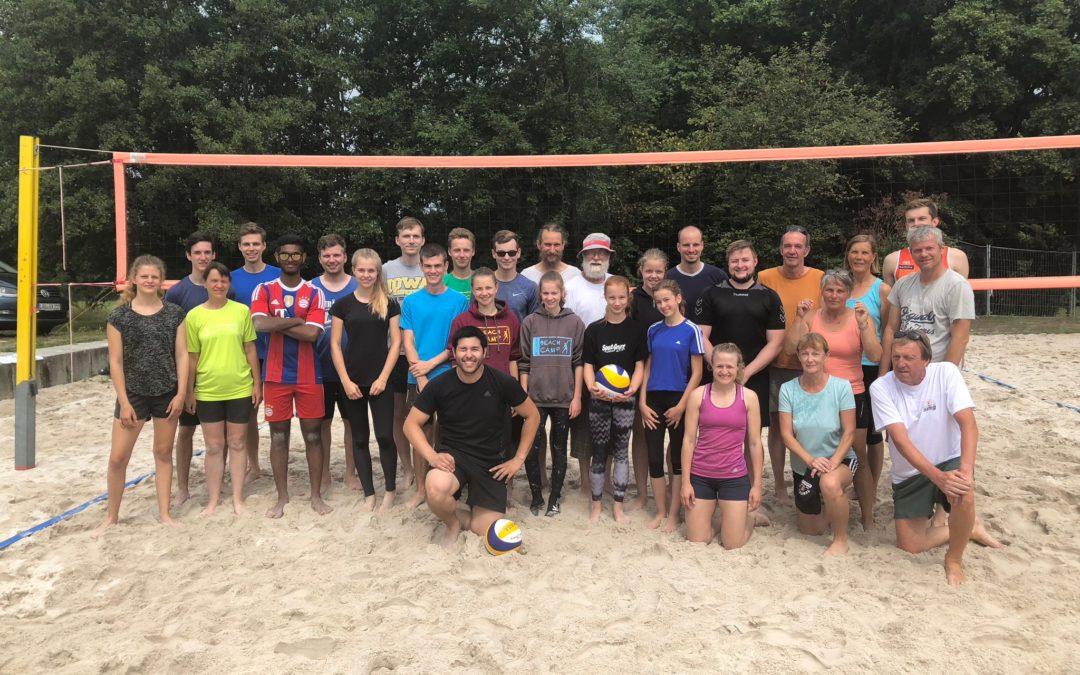 Altdorfer feierten 20 Jahre Beachvolleyballfelder