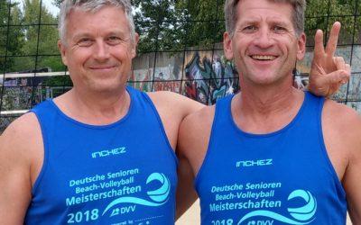 Bayerische Meisterschaft der Senioren im Beachvolleyball: 3. Platz
