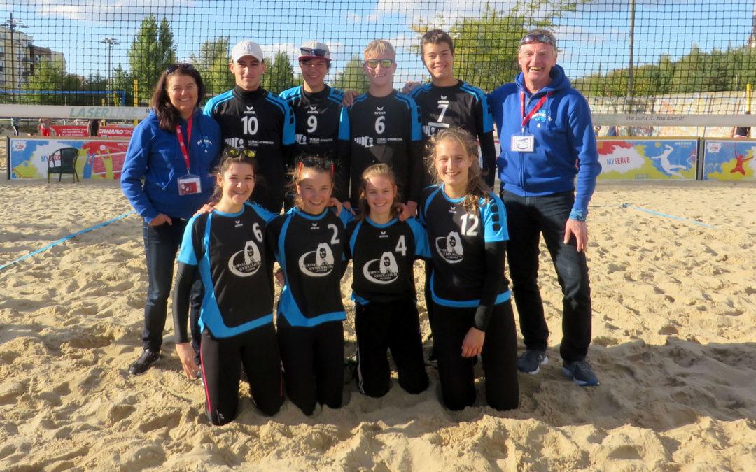 Leibniz-Beachvolleyballer überzeugen beim Bundesfinale mit Platz 6