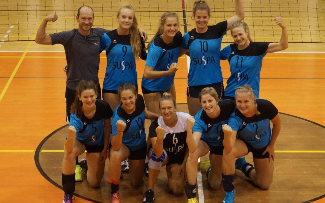 Volleyballerinnen des TV Altdorf vor schwereren und leichteren Aufgaben