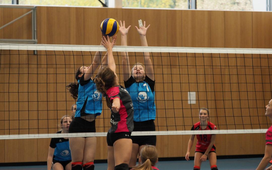 TVA-Volleyballerinnen mit vier Siegen und einer Niederlage