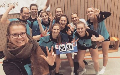 TVA-Volleyballerinnen der 3. Liga punkten pflichtgemäß
