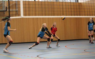 TVA-Volleyballerinnen erreichten als Damen III und als U18 vier Siege an einem Wochenende
