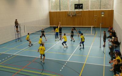 Volleyballteams des TV Altdorf mit mehr oder weniger guten Ergebnissen