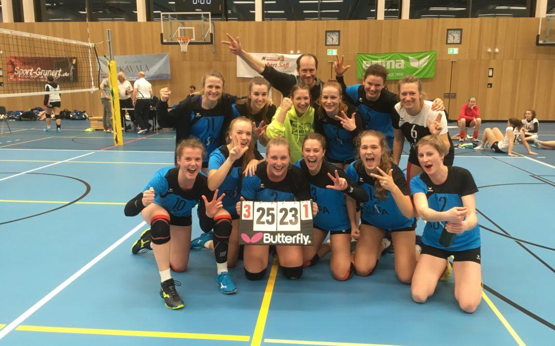 3.-Liga-Volleyballerinnen rehabilitieren sich mit 3:1-Sieg über Augsburg