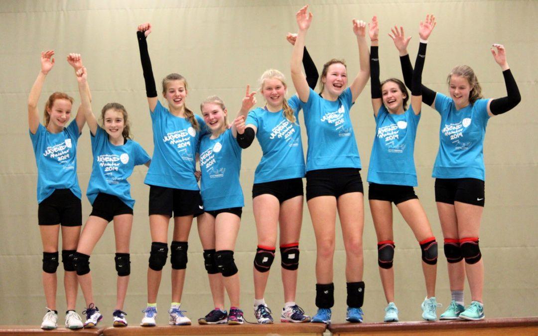 Altdorfer U16-Volleyballmädchen auf der Überholspur