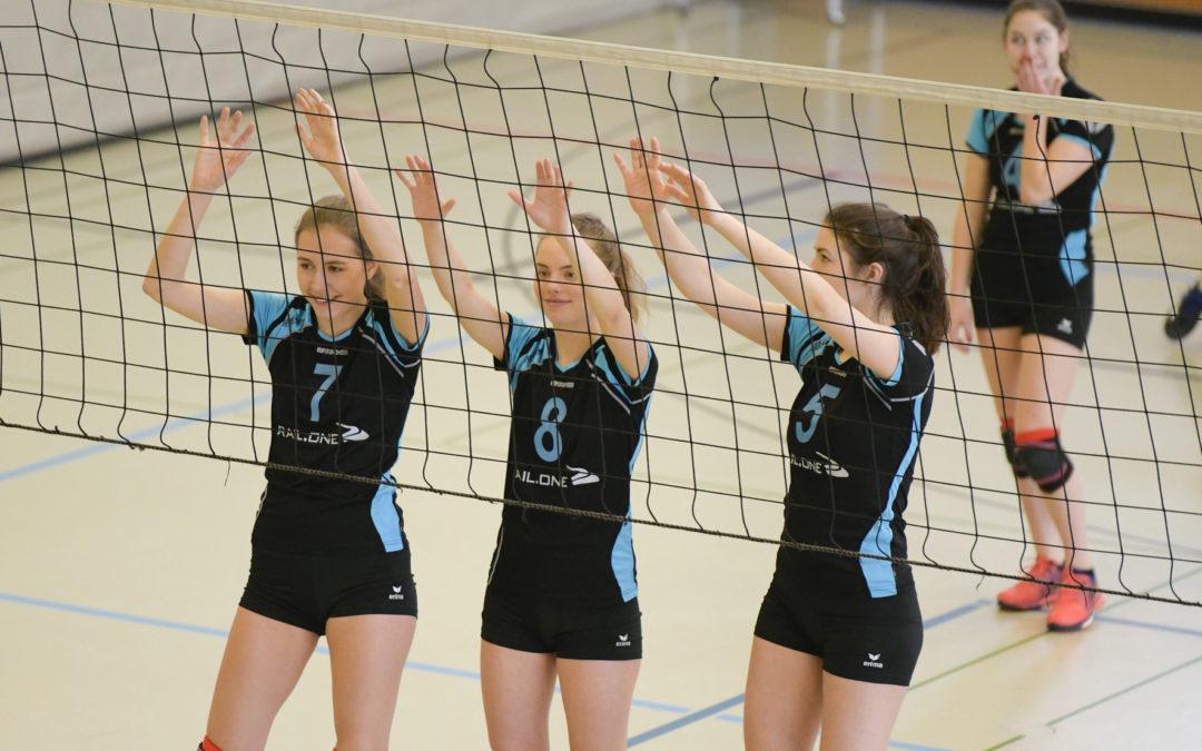 TV Altdorf belegt 3. Platz auf den Nordbayerischen Meisterschaften U20 Weiblich