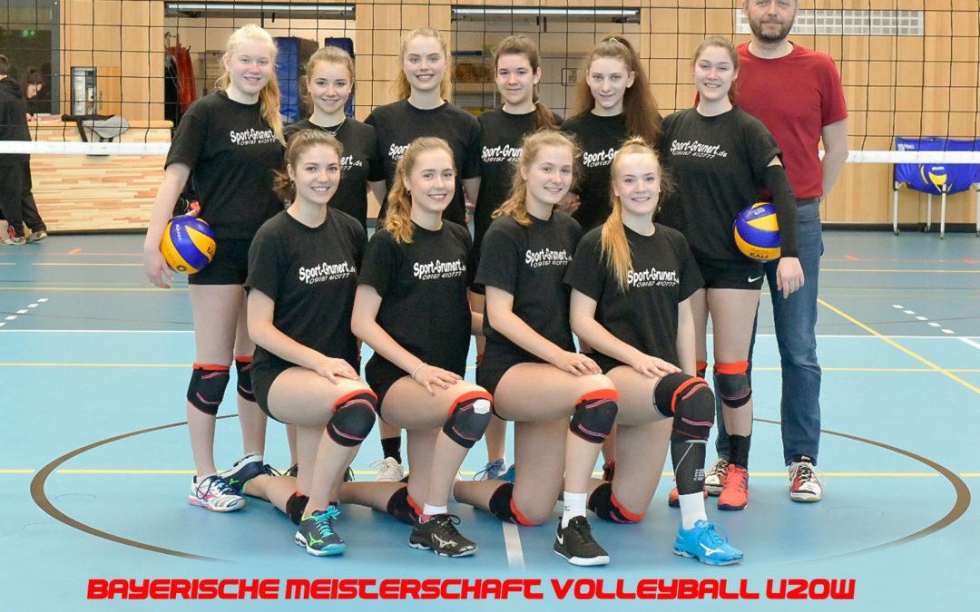 Volleyball-Juniorinnen des TV Altdorf erreichen den 4. Platz bei der Bayerischen Meisterschaft