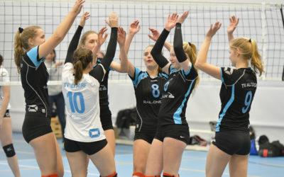 Volleyballdamen TV Altdorf II Meisterinnen in der Landesliga Nordost
