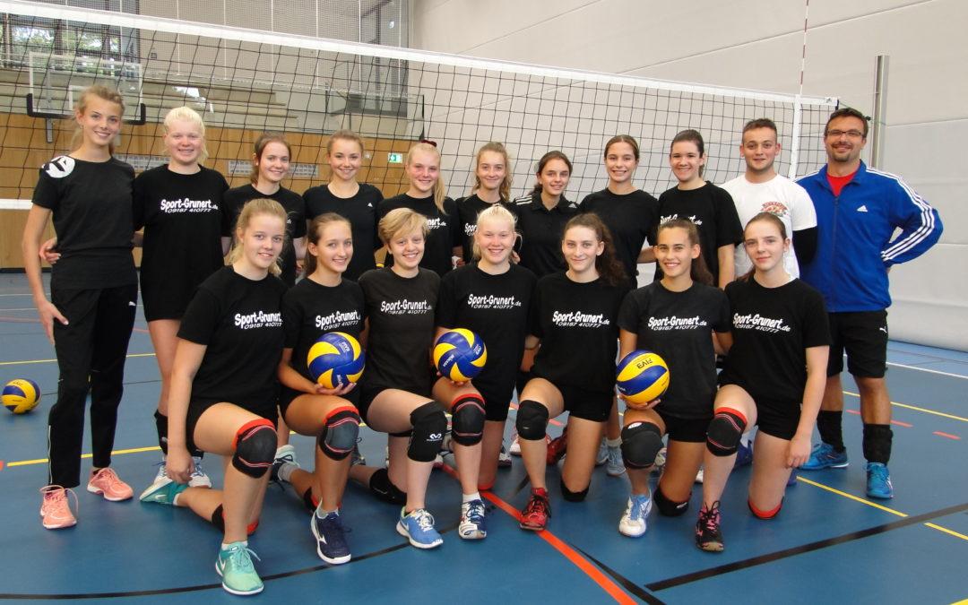 Großkampf-Wochenende der Altdorfer Volleyballdamen
