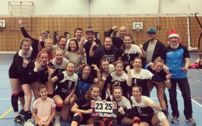 TVA Volleyballdamen ziehen davon