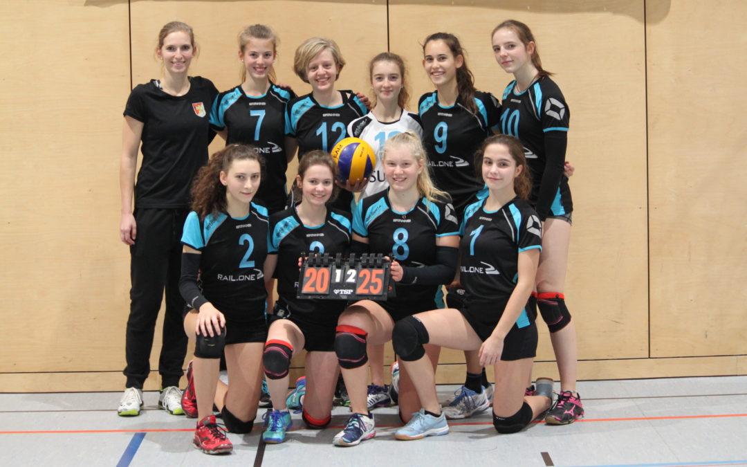 TVA-Volleyballdamen III: Erster Niederlage folgte ein Sieg
