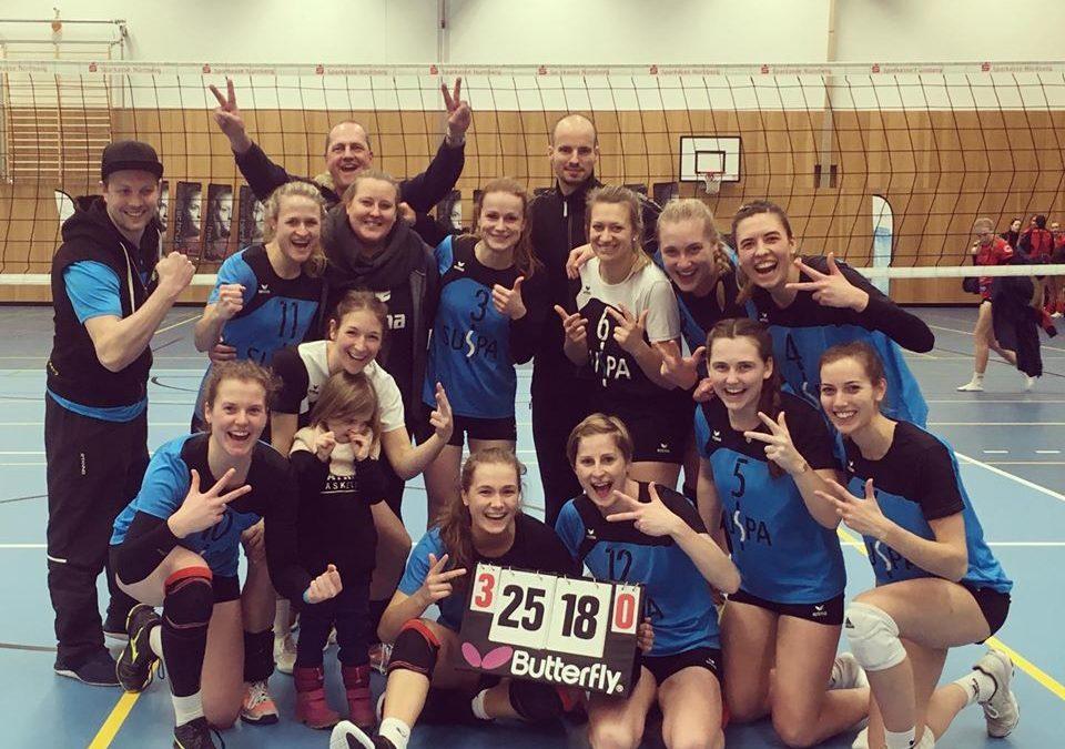 Altdorfs Drittliga-Volleyballdamen unterstreichen Meisterschaftsambitionen