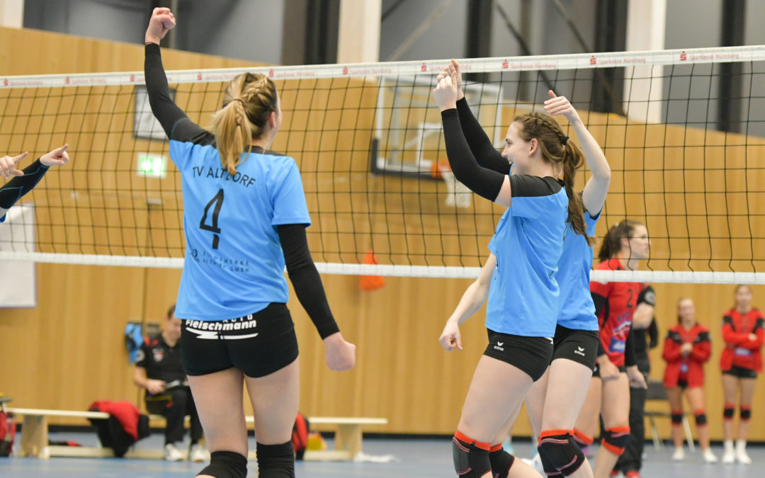 Altdorfs 3.-Liga-Volleyballerinnen weiterhin standhaft