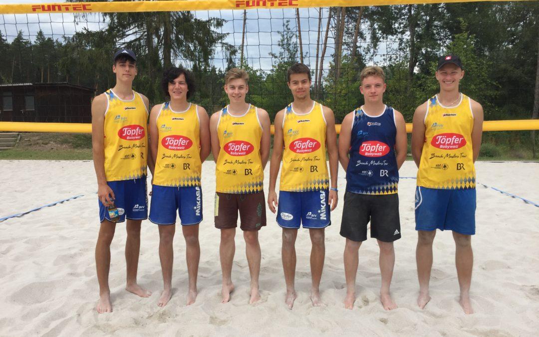 Bayerische Meisterschaft im U18-Beachvolleyball