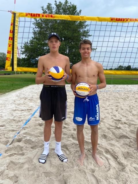 Bayerische Meisterschaft U19-Beachvolleyball: Bibelriether holt Bronze