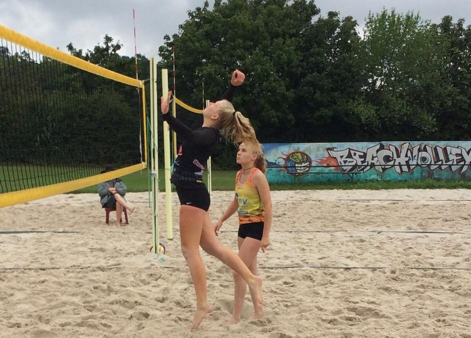 Mittelfränkische Meisterschaft im Beachvolleyball der U19: