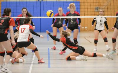 TVA-Damen II gegen Abensberg und Erlangen