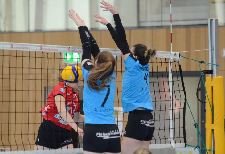 Bissiges Löwenrudel – Altdorfer Volleyballerinnen siegen 3:0
