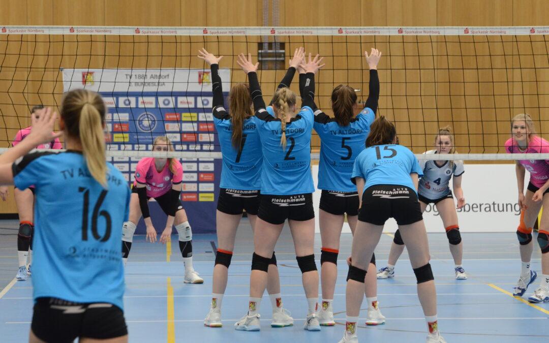Senkrechtstarterin – Altdorfs Mittelblockerin über das Match gegen PROWIN Volleys TV Holz