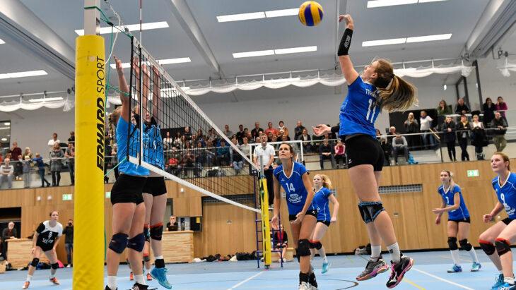 Endlich wieder Tollhaus – Heimspielpremiere der Altdorfer Volleyballerinnen